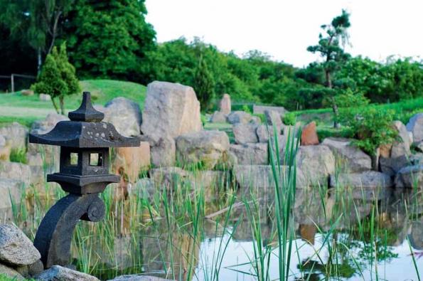 Voda je hybnou silou zahrady. Může stát v jezírku, proudit mezi kameny či přepadávat z nádržky do nádržky. Zcela nezbytné jsou vodní rostliny a okrasné trávy.