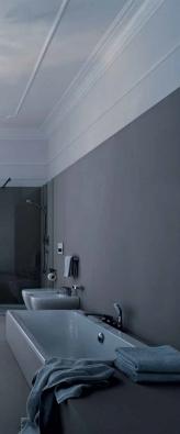 Žensky laděná koupelnová série MyDay (KERAMAG) pochází z dílny návrhářky Cornelie Thiesové.