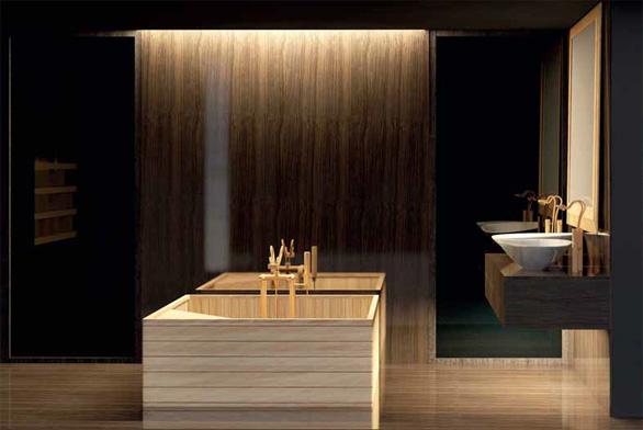 Zatímco u malé koupelny je její uspořádání limitováno rozměry místnosti a velikostí jednotlivých zařizovacích předmětů, velká koupelna si žádá jiný přístup.