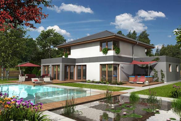 Architektura typového rodinného domu vpodání dobrého dodavatele projektů tohoto druhu, vtomto případě je jím společnost G SERVIS CZ, většinou odpovídá obecně panujícímu vkusu, slehkou tendencí názor stavebníků dále formovat.