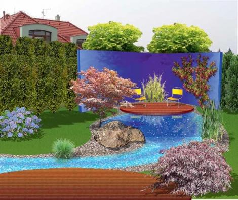 Řešením je důsledné odclonění zahrady od okolí – také z důvodu hlučnosti.