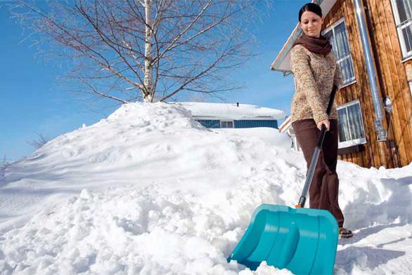 Prostředky na odklízení sněhu obvykle volíme podle množství sněhu a četnosti odklízení.