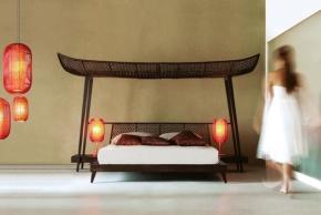 Elegantní baldachýnové postele