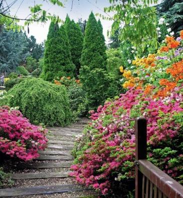 Na procházce starou zahradou si můžeme vychutnat všechny krásy tuzemské i zahraniční flóry.