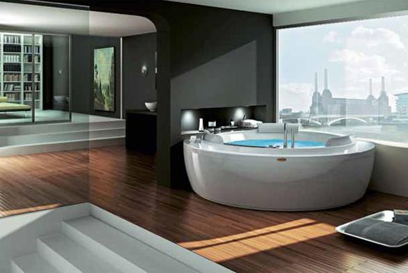 Domácí lázně v koupelně