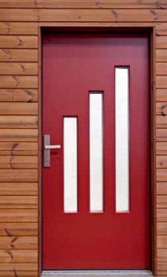 Vstupní dveře pro pasivní domy (SLAVONA). Výrobci jdou prostě s dobou. Dokonce ji v mnohém záměrně předbíhají...