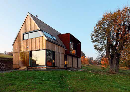 Bezpochyby nejvíce pasivních domů bylo postaveno jako montovaná dřevostavba.