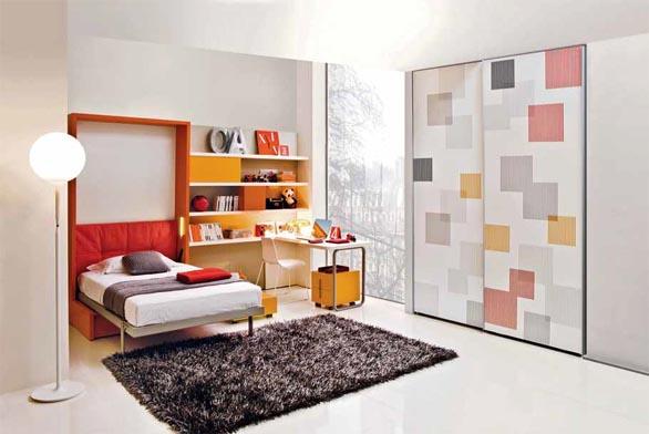Sklápěcí postel Altea relax s vestavěným úložným prostorem (CLEI).