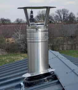 Moderní komínové systémy dokážou pro topidla zajistit dostatečný přísun vzduchu.