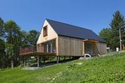 Dům se soutěžním kódem T20, Domesi Concept House, který realizovala společnost Domesi – Prodesi.