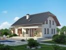Projekt domu Blanka 4 nabízí společnost Ekonomické stavby, a. s. (soutěžní kód K001).