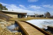 Zamimořádně zdařilý soulad architektury skrajinou porota udělila zvláštní cenu domu I08, který navrhl architekt Martin Habina.
