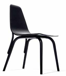 """Židle Tram, novinka tradicního ceského výrobce TON, predstavuje podobu klasické """"tonetky"""" pro nové tisíciletí."""