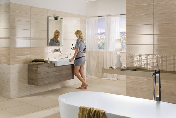 Rekonstrukce koupelny se často neobejde bez stavby nových příček ajejich povrchové úpravy.