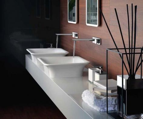 Italský výrobce Gessi je na poli koupelnových zařizovacích předmětů světovou špičkou (DESIGN BATH).