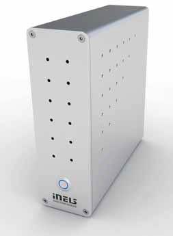 Systém iMM umožňuje ovládat a propojovat hudbu, videa, televizi, fotografie, internet a kamerový systém (ELKO EP).