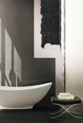 Čtyřmilimetrový obklad zkolekce Pietre Slim/4 (CASA DOLCE CASA), rozměr 60 x 120 cm, cena  2 711 Kč/m², MONDO CERAMICA.