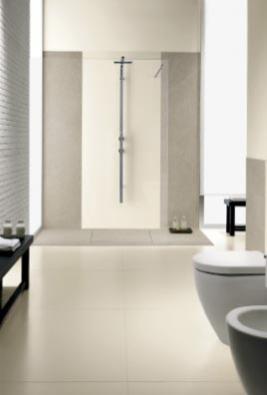 Obklad zinovativního keramického materiálu Kerlite, tloušťka 3 mm, formáty až 100 x 300 cm, cena 900–2 500 Kč/m², KERLITE.
