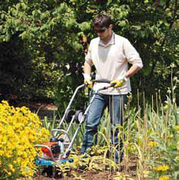 Minirotavátory umožní pohodlné kypření záhonků amenších políček, což ocení především zahrádkáři, drobní pěstitelé, chataři achalupáři (MOUNTFIELD).