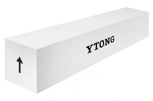 Nosné překlady Ytong NOP jsou pórobetonové prvky armované betonářskou výztuží.