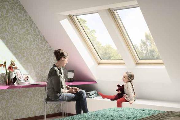 SNovou generací střešních oken VELUX získáte více světla, více pohodlí a menší spotřebu energie.