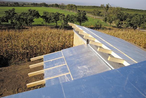 Systém TOPDEK představuje spolehlivé technické řešení šikmých střech.