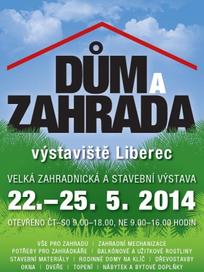 Liberec přivítá výstavu Dům a zahrada