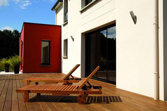 Snadná montáž terasy i na nerovném podkladu