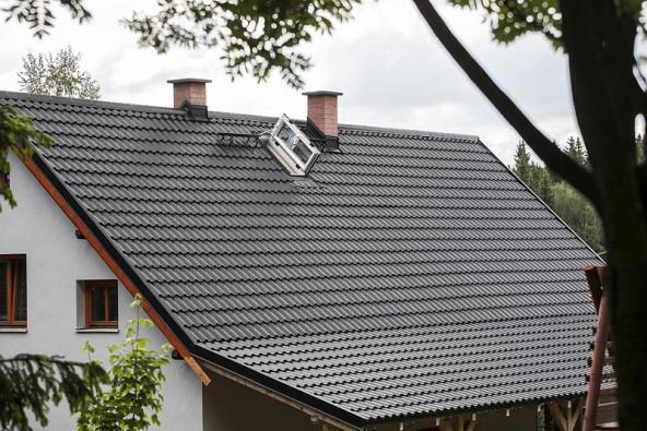 Střecha Ruukki Finnera klempíře Pavla.