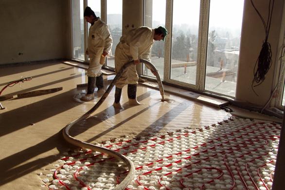 Podlaha šetří náklady na vytápění