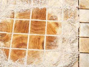 Špalíková dlažba je známa po dlouhá staletí.