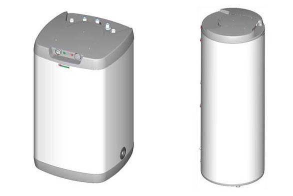 Ohřívače s horní elektroinstalací
