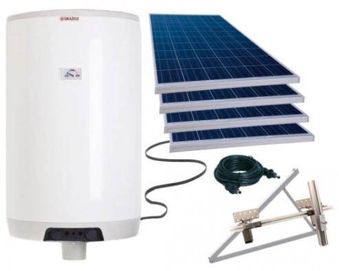 Komponenty fotovoltaického ohřevu (zdroj internet)