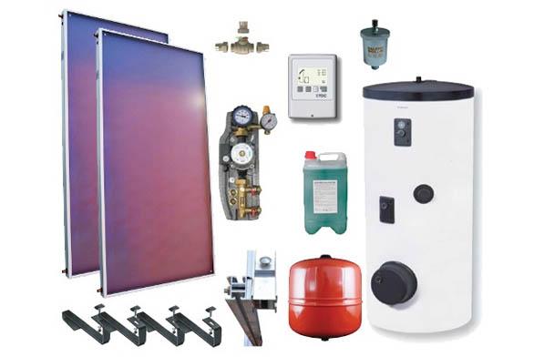 Komponenty fototermického ohřevu (zdroj internet)