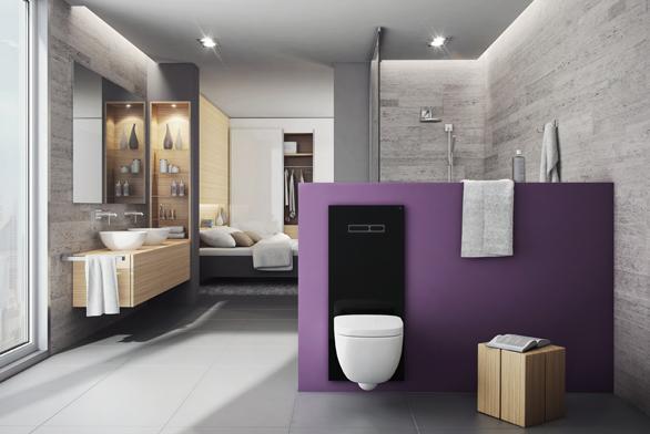 Toaleta budoucnosti TECElux vnové barvě – černé.