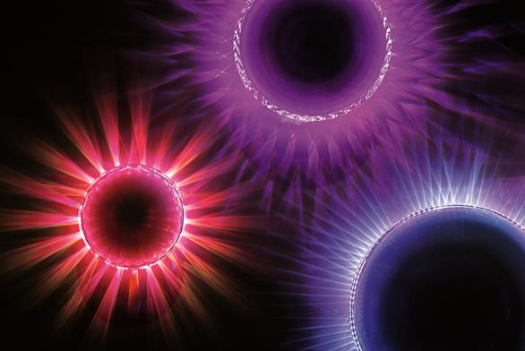 Nástěnný světelný objekt Glow je založen naproměnách barevnosti, intenzity  aprojekce světla. Design Martin Prokeš, vyrábí Preciosa Lighting.