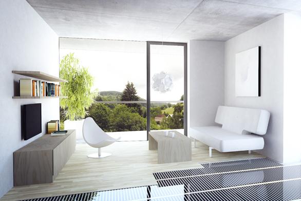 Moderní vytápění v domě