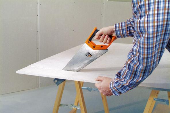 Provedení podlahové konstrukce usnadní, urychlí azlevní suché podlahy Rigidur (Rigips).
