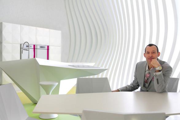 Světový designér Karim Rashid vyznává funkčnost