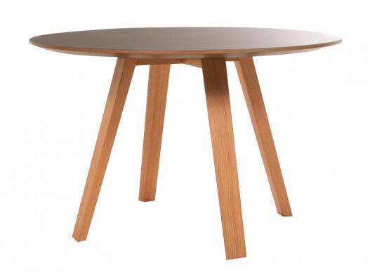 Kruhový jídelní stůl Maverick (KFF), design Birgit Hoffmann, Ø 120 cm,  v. 76 cm, cena 72180 Kč, www.belini.sk.