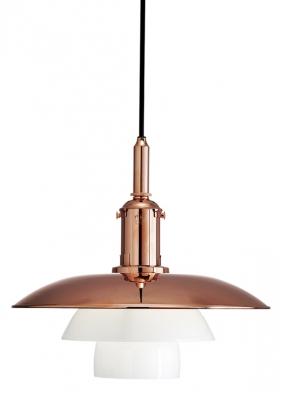 Limitovaná edice světla PH 3 ½-3 (Louis Poulsen) změdi ke 120. narozeninám designéra Poula Henningsena, Ø 33 cm, v. 30,7 cm, cena od 35 937 Kč, www.stockist.cz.