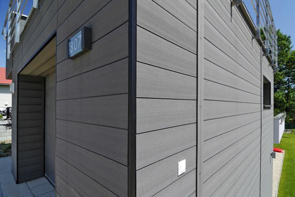 Nový obkladový systém vnějších stěn Twinson O-Wall sestává zkomůrkových obkladových desek.