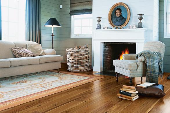 Dřevo výborně akumuluje teplo a zachovává si příjemnou teplotu i po vypnutí topení.