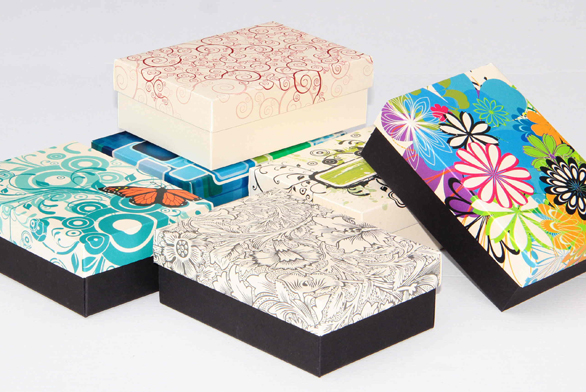 Kartonové krabice s potiskem