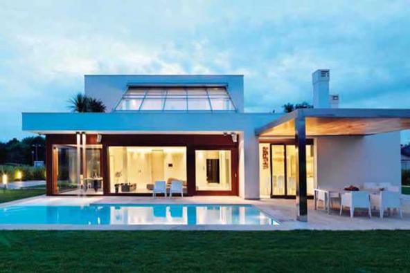 Komfortní dům plný světla a slunce