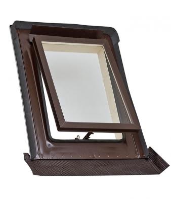 Kominický výlez HPI pro profilované střešní krytiny srozměry 550 x 720mm umožňuje snadný přístup nastřechu. Vyrábí se zhliníkového plechu spolyesterem.