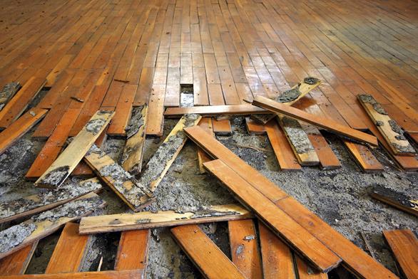 Podlaha svýškou omezenou