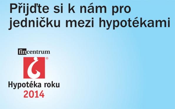 Česká spořitelna nabízí Hypotéku roku!