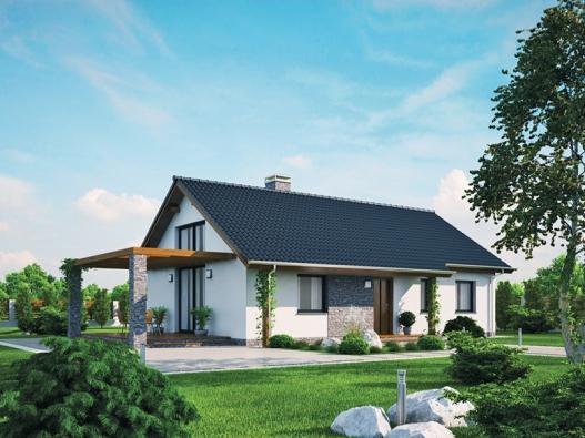 2. místo získal dům Katka 33, kód K009, dodavatel Ekonomické stavby, a. s.