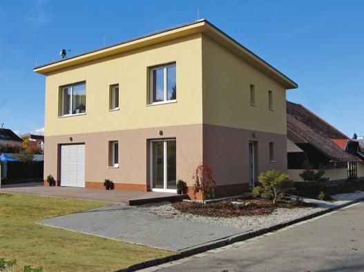 1. místo získal dům Triumf, dodavatel Heluz cihlářský průmysl, v. o. s. (kód K029).